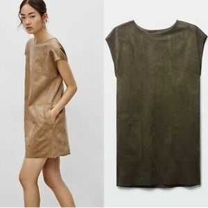 Wilfred Free Faux Suede Nori Dress